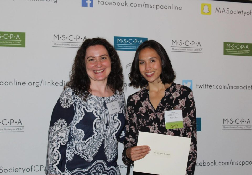 Cecilly Deorocki Receives Tonneson + Co Scholarship