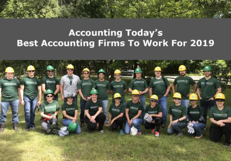 tonneson + co Named to Accounting Today's 2019 Best Accounting Firms to Work for